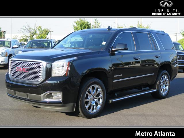 2015 GMC YUKON 2WD 4DR DENALI Navigation System Roof - Power Moon Roof - Power Sunroof Roof-Sky