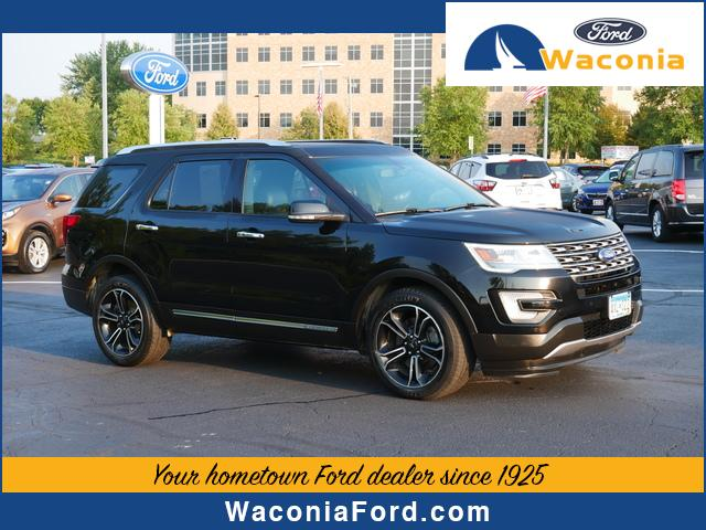 Used 2017 Ford Explorer Limited with VIN 1FM5K8F87HGC37370 for sale in Waconia, Minnesota