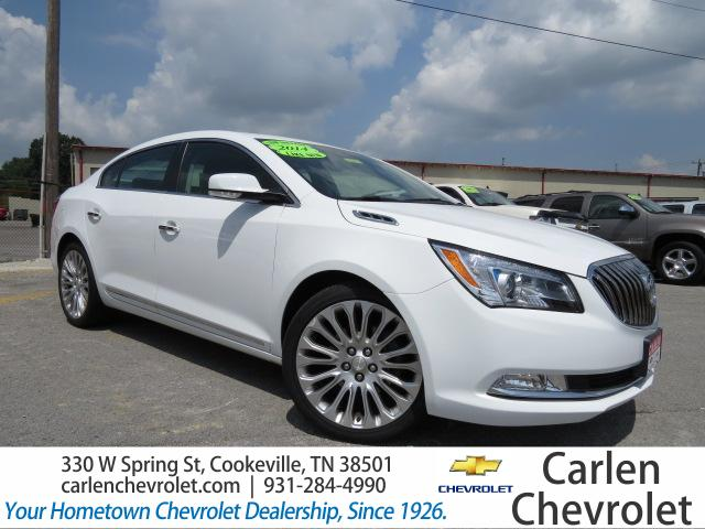 2014 BUICK LACROSSE 4DR SDN PREMIUM II FWD Navigation System Front Wheel Drive Seat-Heated Drive