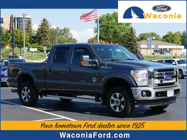 Used 2015 Ford F-250 Super Duty Lariat with VIN 1FT7W2BT2FEB88001 for sale in Waconia, Minnesota