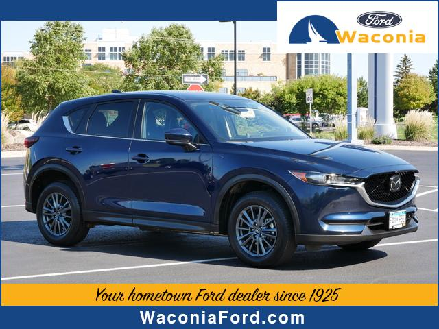 Used 2020 Mazda CX-5 Touring with VIN JM3KFBCM6L0860191 for sale in Waconia, Minnesota